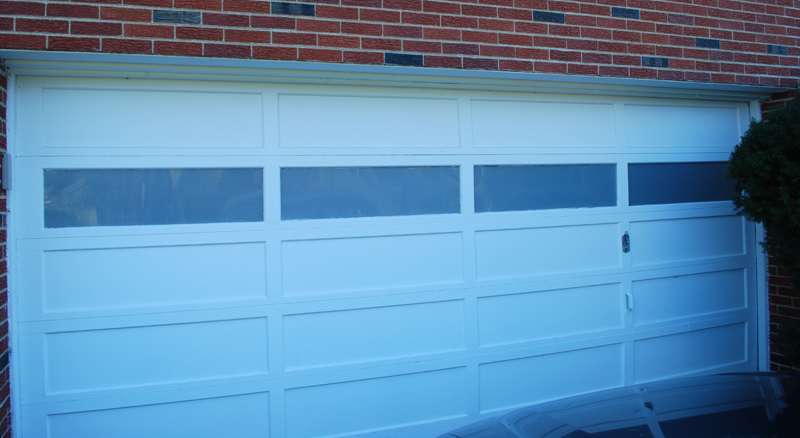 In The End, I Think That The Privacy Film Accomplished Just What I Had  Hoped. It Provides Just Enough Privacy While Still Helping To Keep The  Garage Light ...